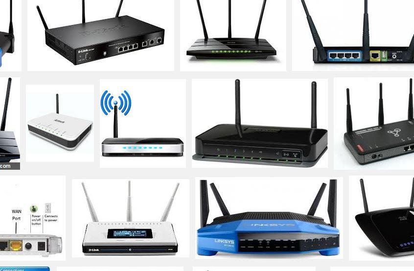 Trådløse routere